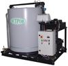 Установка охлаждения жидкости IKH с конденсатором воздушного охлаждения и аккумулятором холода